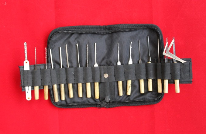 Copper Handle Hook Picks Pack