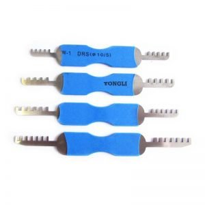 GOSO 4 Pieces Comb Padlock Picks