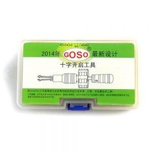 GOSO 3-Piece Cross Lock Pick Set