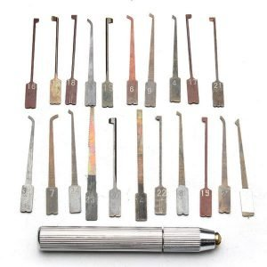 GOSO Interchangeable 21-Piece Lock Pick Set