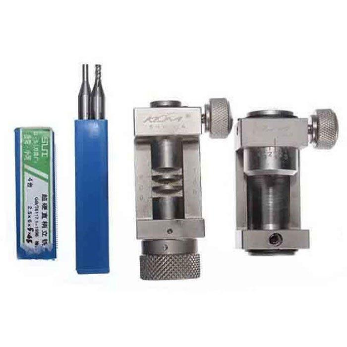 "5//64/"" Diameter 4 Flute DE Stub Cobalt End Mill 3//16/"" Shank 1//8/"" LOC YG-1 #52258"