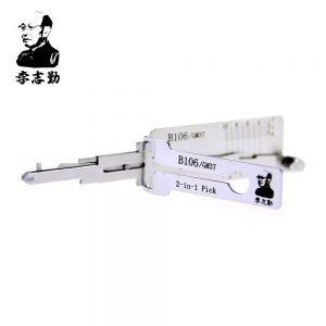 Lishi B106/GM37 2in1 Decoder and Pick