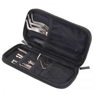 HUK 20 Lock Pick Set with LED - Interchangeable Handle